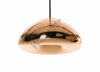 Wholesale Modern glass void pendant lamp void light copper brass steel Void mini Pendant Lamp Ceiling Light suspension lighting Chandelier