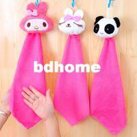 bathroom wipes - Rabbit small bathroom facecloth hanging towel ultrafine fiber wipes g