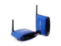 Transmitter & Receiver audio relay - Wireless AV Transmitter Receiver RF Signal w IR Remote Relay GHz GHz Audio Video AV CH m