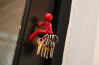 Wholesale Christmas Gifts Novelty Magnetic Lilliputian Shaped Key Holder Hanging keychain Cute Refrigerator Stickers Best Quality