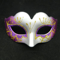 Wholesale latest princess mask halloween costume venitian masquerade party mask kid favor birthday gift EMS mix color