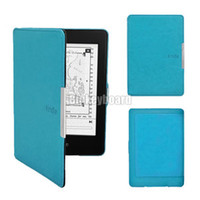 Wholesale Ultra Slim Magnetic PU Leather Smart Case Cover for Amazon Kindle Paperwhite hx14