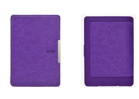 Wholesale 10 Ultra Slim Magnetic PU Leather Smart Case Cover for Amazon Kindle Paperwhite hx14