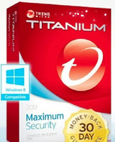 Antivirus & Security Home Windows Trend Micro Titanium Internet Security 2013 1PC 1Year License