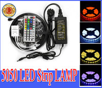 RGB Led Strip Waterproof 5M SMD 5050 300 LEDs Roll + 44 keys ...
