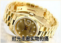 Wholesale gold with box date brand new drop shipping Mechanical cheap High quality Automatic master men watch luxury sports Men s Watches