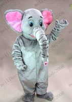 Wholesale Elephant Adult Mascot Costume MYY6586