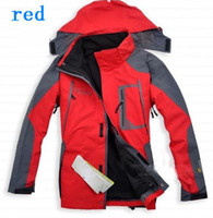 Wholesale men s fashion high quality in winter outdoor ski garment wear detachable inner jacket detachable hood famous brand
