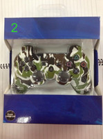 Wholesale Camouflage Wireless Bluetooth Controller Jaypad Game Controller for SONY PS3 Play station Playstation Colors