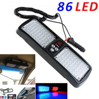 Wholesale Super Bright LED Red Blue White LED Car Truck Visor Strobe Flash Emergency Light Panel Warning Lighting