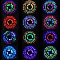 Couleur de rêve magique France-Promotion! 5m / lot 5050 150 LED SMD imperméabilisent la lumière de bande magique de LED de couleur de rêve magique + contrôleur à distance Free-Utop2012