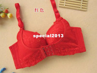 Lace Normal Bras DHL Free Shipping!Women's Underwear,Essential Oil+Massage Brassiere,Push up bra,70A 70B 75A 75B 80A 80B 85A 85B,3 4 CUP,F10.