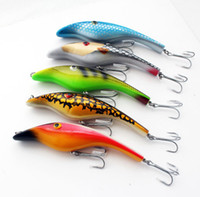 Wholesale 5pcs Zalt MUSKY MUSKIE PIKE RARE ODYSSEY quot PIGLET PIG JERK BAIT FISHING Lure Bait mm g D Eyes