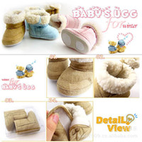 Unisex Spring / Autumn Cotton Korean factory direct foreign UGG snow boots baby cotton shoes baby shoes baby boots baby cotton shoes