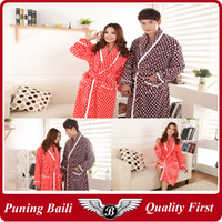 Wholesale fashion style women sleepwear lovers pajamas bathrobe flannel sleepwear flannel pajamas thicker suitable for winter