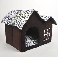 Wholesale Luxury Design Pet Dog Cat House Cow Bed Home