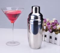 Wholesale 550ml thickened leakproof sleeve cocktail shaker grams of pot Set bartending tools snow snow grams cup