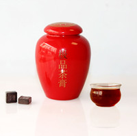 Wholesale Freeshipping puer ChaGao with Ceramic pot Pu er cream cooked tea paste luck in tea Pu erh cream g Specials
