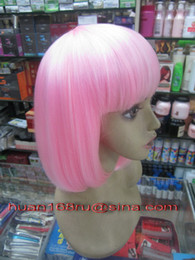 Wholesale New Fashionable Wigs Short Straight Cute Hair for Stock Synthetic Wigs Cosplay wigs