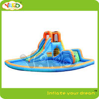 water park games - Residential inflatable water park inflatable water slide inflatable water game
