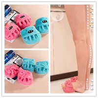 Wholesale Weight Loss Slimming Slipper Shoe Foot Leg Body Shaper Half Sole Massage Shoes