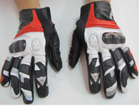 Wholesale 1 pair Hot sell Denis leather gloves motorcycle Racing Gloves