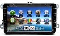 dvd gps vw golf - 8 HD Car DVD With GPS Radio Bluetooth For VW GOLF PASSAT CC TIGUAN CADDY JETTA TOURANT T5 SENT