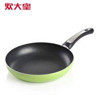 Wholesale Large general omelette flat bottom pot frying pan buzhanguo wok embossed fry pan cm