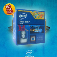Wholesale Intel intel core cpu bag i7 k hlwg computer quad core processor
