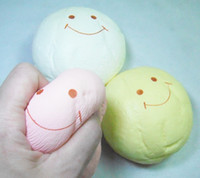 Wholesale 10cm Kawaii Jumbo Squishies Bag Charm Color Big Bread Decompress Vent Toys Large Rare Squishy Bun