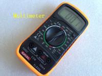 dc electronic meter - LCD Digital Multimeter Electronic Teaser AC DC VOLT Meter Voltmeter Ohmmeter Ammeter XL830L