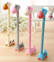 stationery and office supplies - Children s stationery office supplies fresh and lovely creative cartoon donkey pen gel pen