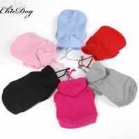 Wholesale pet clothes for dog sweatshirts hoodies dog clothes new design for winter fit for personal print clothing