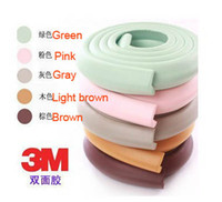 Wholesale New Baby Safety Corner protector Table Edge Corner Cushion Strip M type Edge Corner Guards NBR with M Sticker