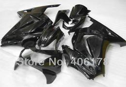 Best price Ninja 250R fairing For Kawasaki ZX250R 2008 2009 2010 2011 2012 Black Sport Motorcycle Fairings