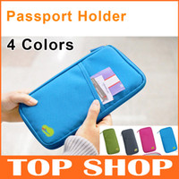 Wholesale Wallets Holders For Passport Cards Paperwork Tickets POLYESTER Colors Pure Clutch XB0005