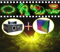 Auto strobe animation laser series - Green Red Yellow RGY mW Sound active Stage laser light RGY Animation Laser Series V2 ishow software