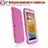Wholesale 5pcs inch tablet pc for kids child as gift toy Allwinner A13 Capacitive Screen M GB Dual camera