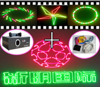 Green animation laser series - Red Green Yellow RGY Mix Sound active Stage laser light Animation Laser Series ishow Software as a free gift