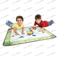 2 to 5 years aquadoodle draw and doodle mat - LLFA2939 baby Doodle Mat Big Size cm Spinmaster Aquadoodle Dora and Diego Doodle World Baby Drawing Toys Set