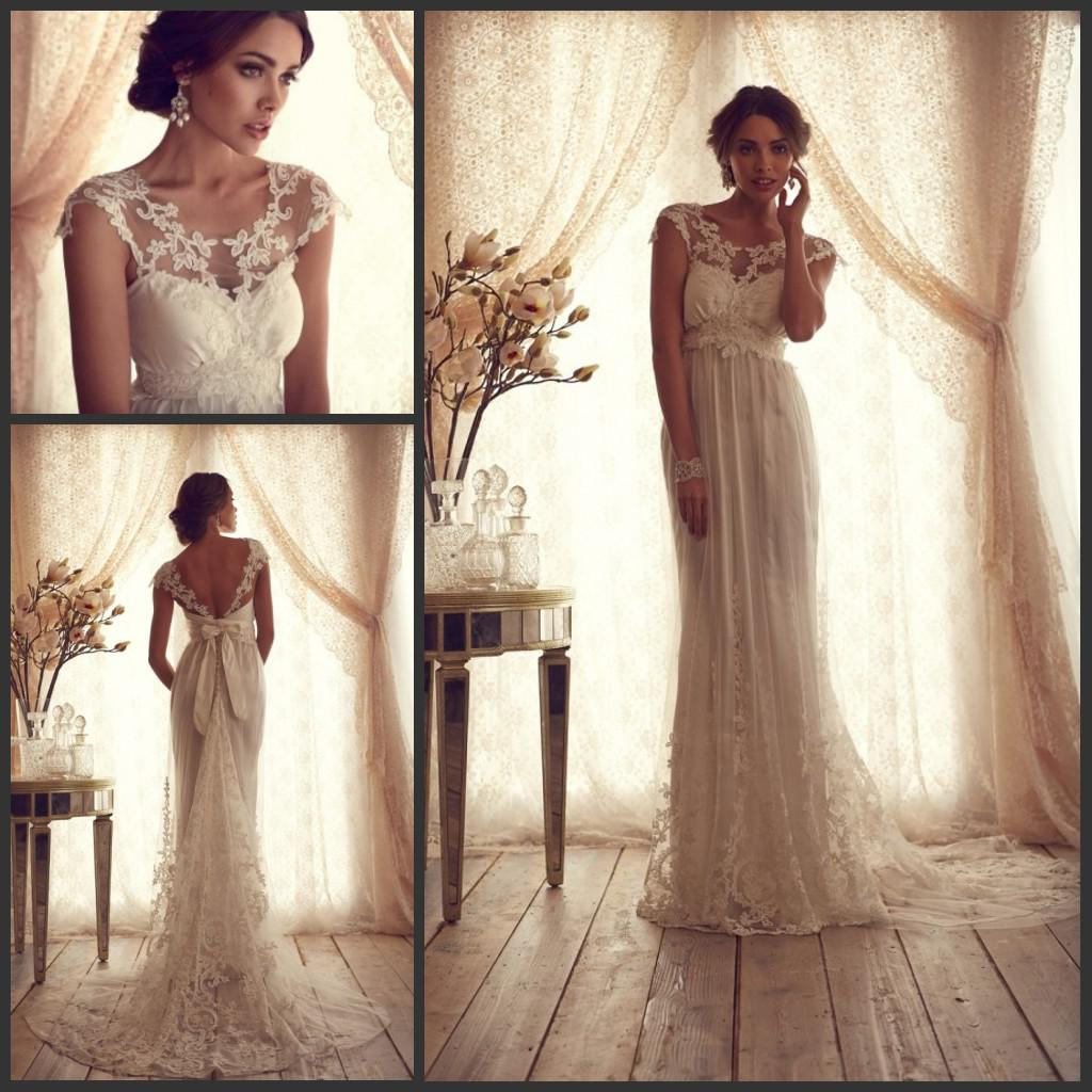 Unique wedding dresses anna campbell lace wedding dresses for Where to buy anna campbell wedding dresses