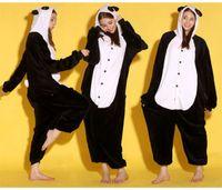 Wholesale Animal Bear Unisex Adult Flannel Onesies Pajamas Kigurumi Jumpsuit Hoodies Sleepwear Cosplay For Adults Welcome Order