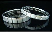 Wholesale 10pcs Energy bracelets Energy magnetic magnetic nano titanium Men Female models pain powerful stone germanium titanium bracelet