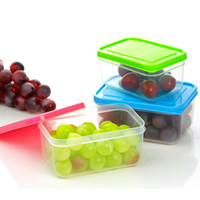 Wholesale PP microwavable freshness preservation airtight food storage container fresh box plastic food crisper