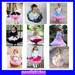 Wholesale NORMAL FLUFFY tutu pettiskirts Girls purple skirt pettiskirt tutus girl s Skirt blue pink dress party dress