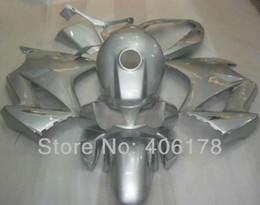 Free shipping,Fairing kit For Honda Interceptor VFR800 2002-2008 02-08 White Silver Full Set Motorcycle Fairings Free shipping