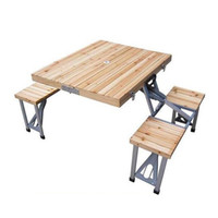 Wholesale Supply of reinforced wood piece folding chair outdoor chairs barbecue tables Products