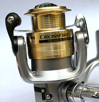 Wholesale Hot daiwa crossfire3000 ib fishing reels spinning wheel fishing reel fishing gear