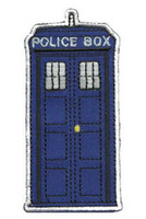 Wholesale The Police Box Doctor Who Tardis punk rockabilly applique sew on iron on patch