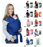 Wholesale Hot Sale EMS DHL Colors Kid Wrap Kid s Slings Gears Strollers Gallus Baby Carrier Towels wrap wraps fast shipping